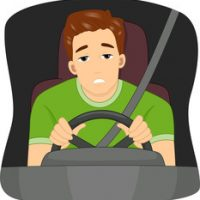 the tired driver