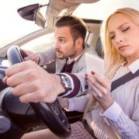 boyfriend taking the wheel